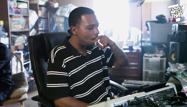 Watch the late DJ Rashad make a beat in 10 minutes