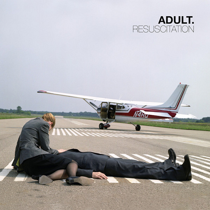 Long-absent Detroit duo ADULT. announce Resuscitation reissue and 7″ covers disc; listen here