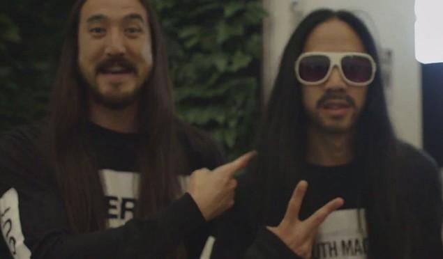 Real Steve Aoki met fake Steve Aoki and teamed up to prank everyone
