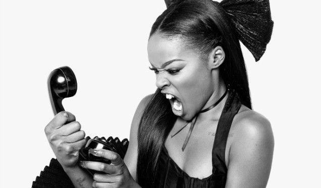 "Azealia Banks: ""I want to punch the little one from Disclosure in the face"""