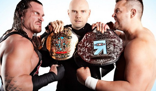 US TV network developing reality show about Billy Corgan's wrestling league