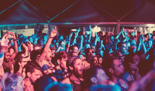 Dimensions Festival night time crowd - credit Dan Medhurst