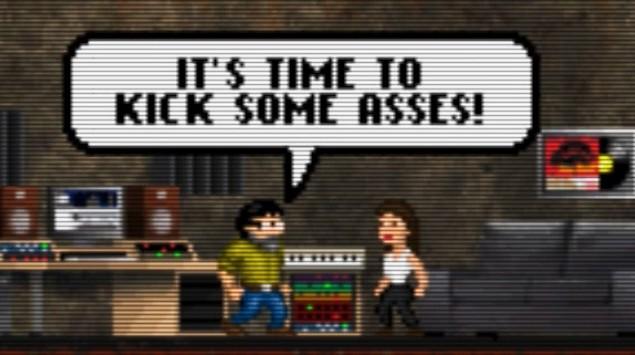 Fight the evil DJ invasion in this ridiculous EDM arcade game