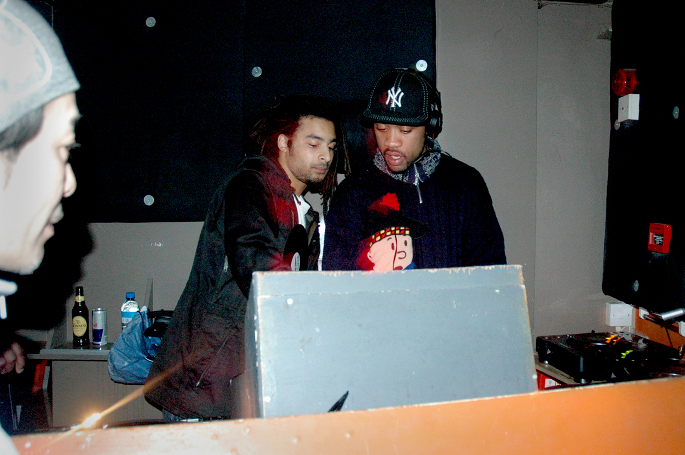 MALA & WILEY, FWD AT PLASTIC PEOPLE