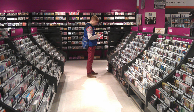 HMV reclaims top spot as Britain's biggest retailer of physical music
