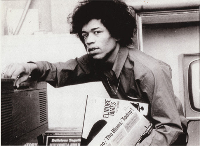 Unheard Jimi Hendrix material to be collected on new LP