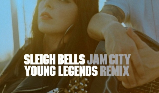 Hear Jam City's seismic remix of Sleigh Bells' 'Young Legends'