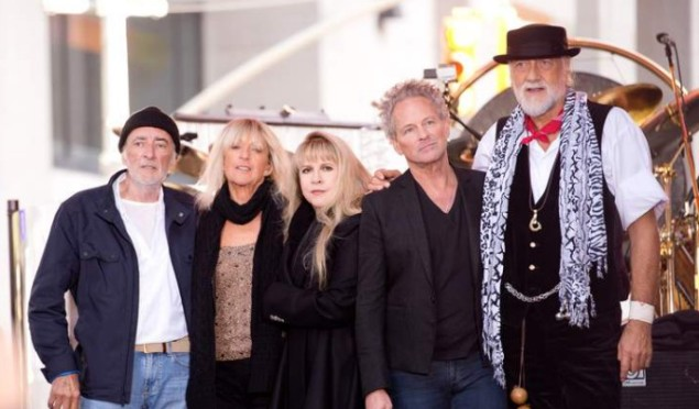 Fleetwood Mac announce UK and Ireland tour in 2015