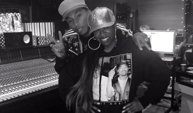 Missy Elliott and Pharrell are working together