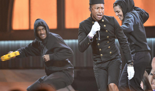 Grammys 2015: Watch performances from Kanye West, Pharrell, Usher, Stevie Wonder and more
