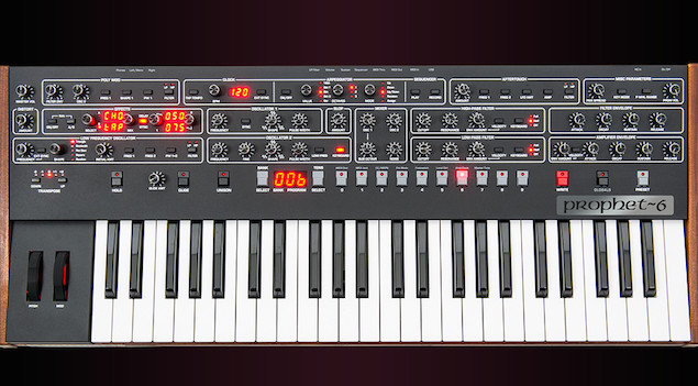 "Dave Smith Instruments release ""tribute"" to legendary Sequential Prophet-5 synthesizer"