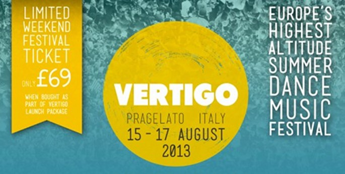 Italy's brand new Vertigo Festival announces first acts