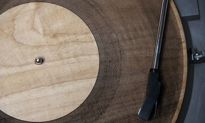 Hear Radiohead's 'Idioteque', as played on the world's first laser-cut wooden vinyl