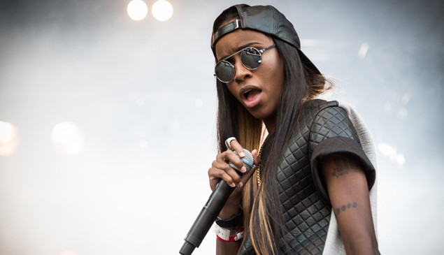 """I was gonna go fucking mad"": Angel Haze explains album leak"