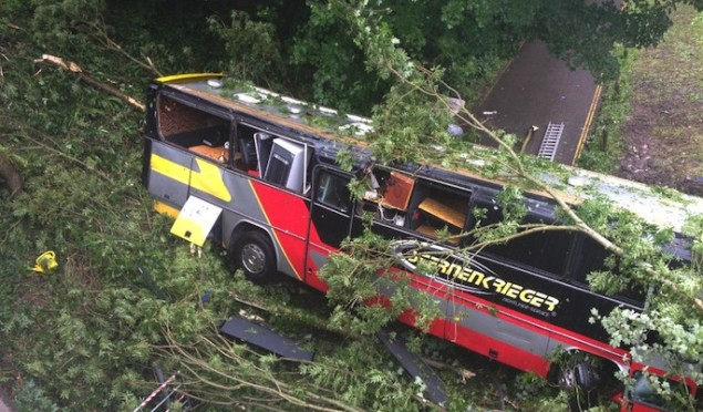 Driver in Baroness bus crash faces criminal charges