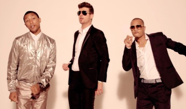 Marvin Gaye - Robin Thicke - Blurred Lines