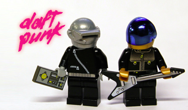 Daft Punk could come alive as Lego