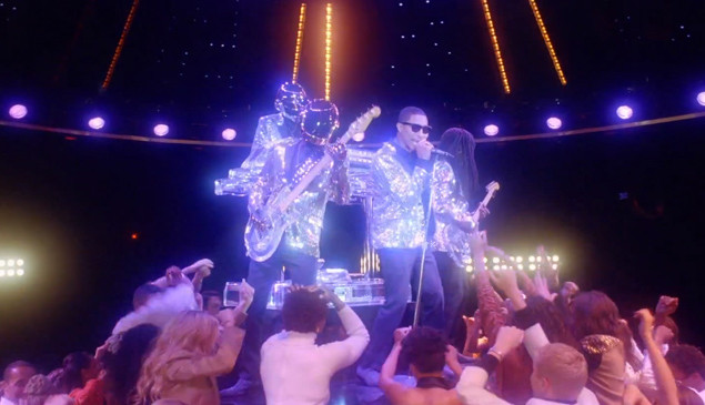Watch the glittering video for Daft Punk's 'Lose Yourself To Dance' featuring Pharrell and Nile Rodgers