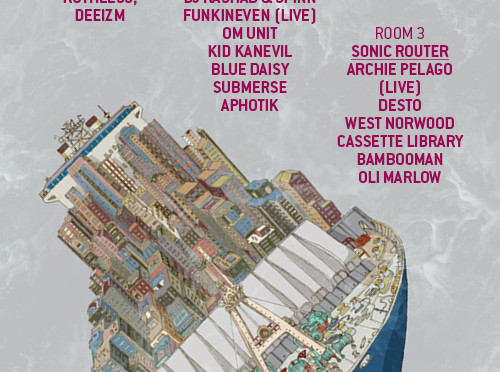Rashad & Spinn, Om Unit, Visionist, Calibre, Submerse and more to play Fabric this friday