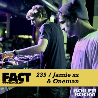 Jamie xx & Oneman
