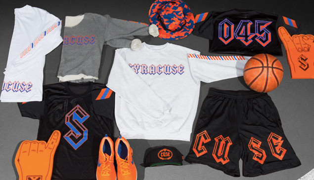 A$AP Ferg has designed a line of clothes for Syracuse University