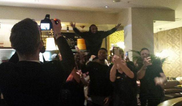 Kanye West got Nandos before tonight's BRIT Awards