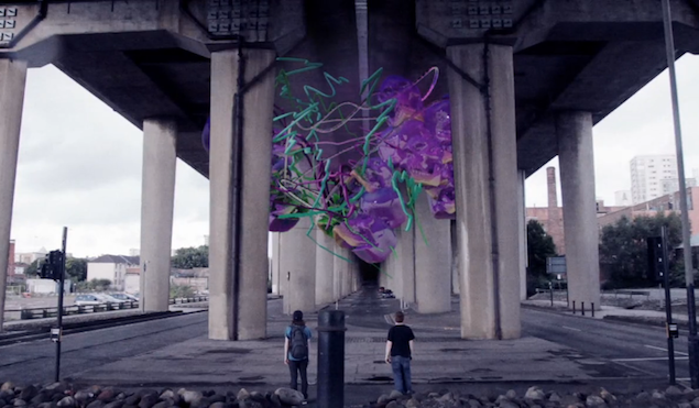 Watch the first short film by Scottish artist Konx-om-Pax, Under The Bridge