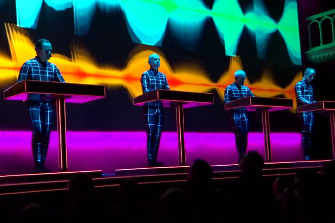 Watch a video revealing Kraftwerk's secret live rig
