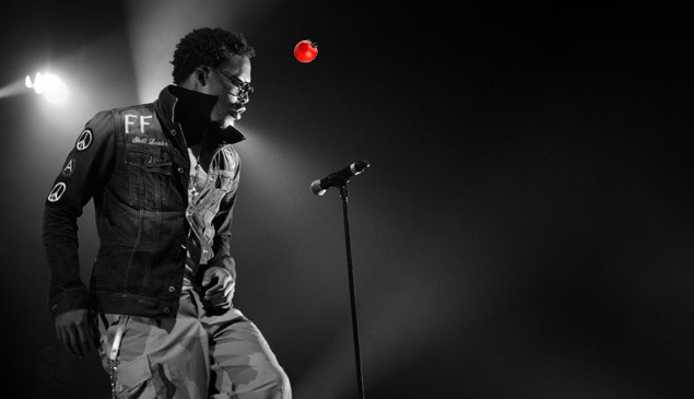 Lupe Fiasco cancels show after fan hurls tomato