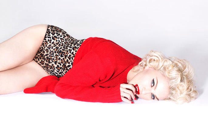 Madonna releases 'Living For Love' video, the first music video released through Snapchat
