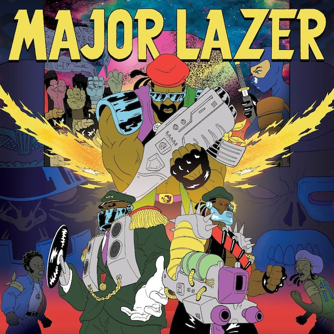 Major Lazer shares new song; Free The Universe gets a release date