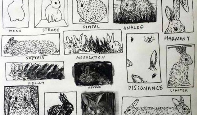 Rabbit in your headlights: an illustration of musical concepts