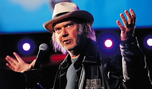 Neil Young's hi-fi audio service Pono to launch early next year
