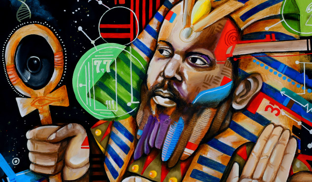 Brainfeeder artist Ras G announces Back On The Planet, shares spacey 'All Is Well…'