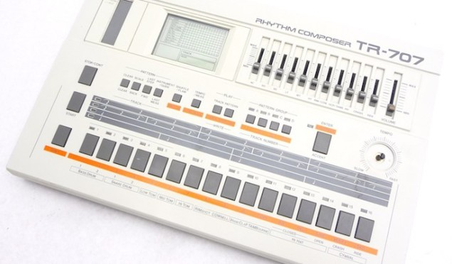 Roland adds 707 sounds to AIRA TR-8