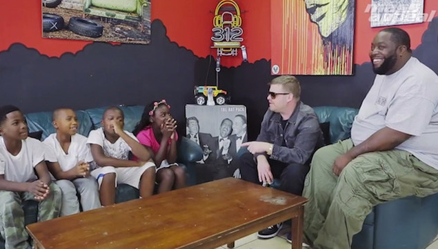 Watch Run The Jewels talk politics with a group of kids