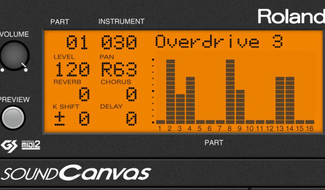 Roland revives Sound Canvas module for iOS