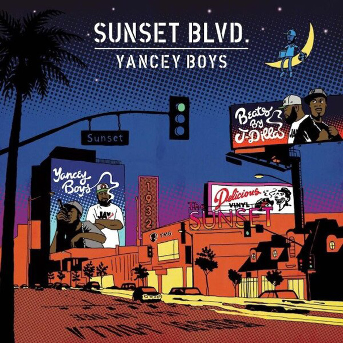 Yancey Boys' Sunset Blvd. cover and tracklist revealed; Talib Kweli, Posdnuos and more feature
