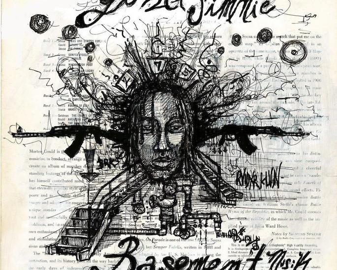 Raider Klan upstart Yung Simmie releases Basement Musik mixtape, featuring SpaceGhostPurrp, Amber London