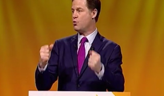The Liberal Democrats have made a Cassetteboy-style video to 'Uptown Funk'