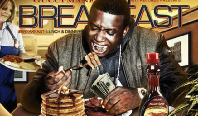Gucci Mane drops three new albums, Breakfast, Lunch and Dinner