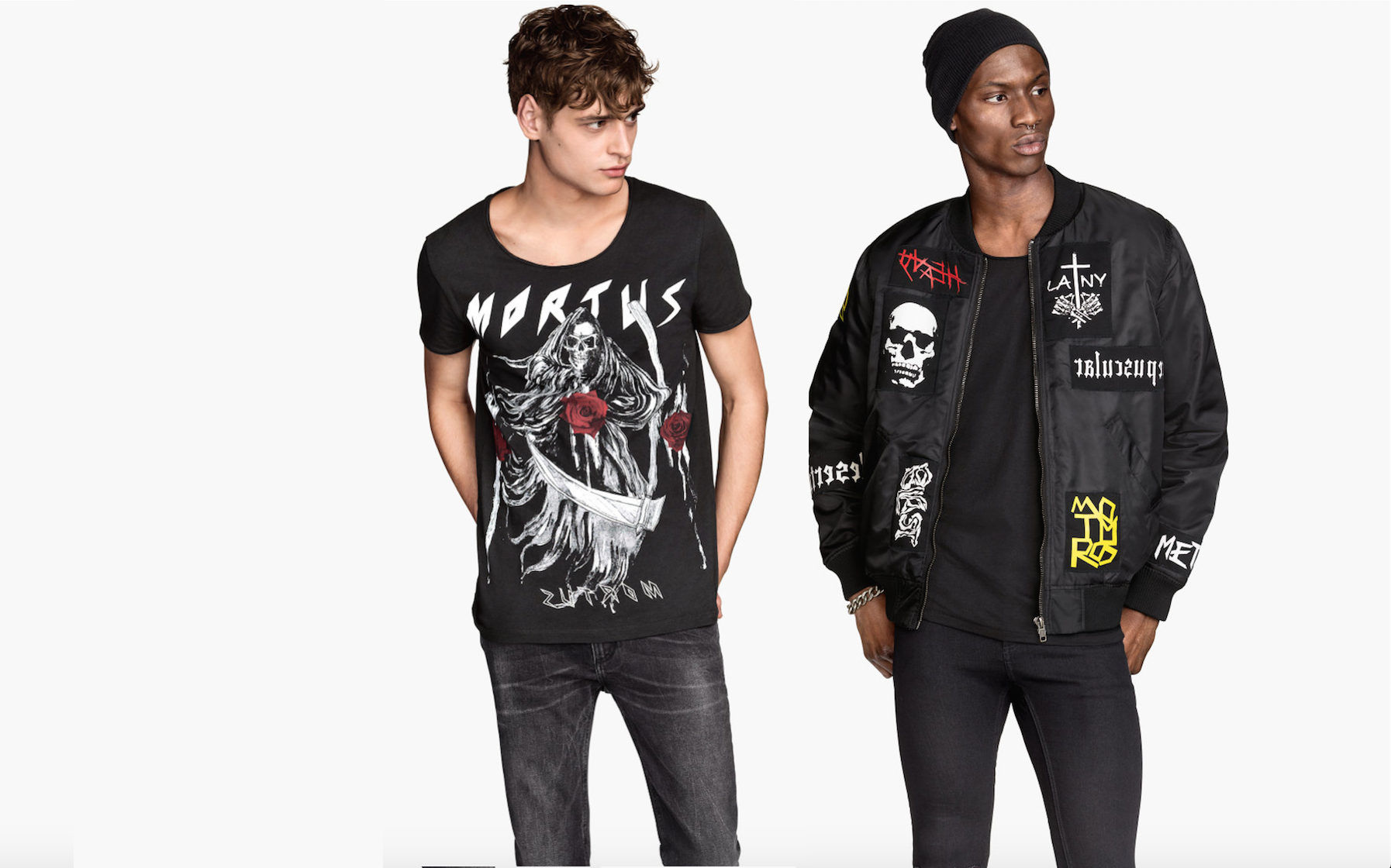 H&M accused of creating fake underground, neo-nazi metal bands to promote clothing line