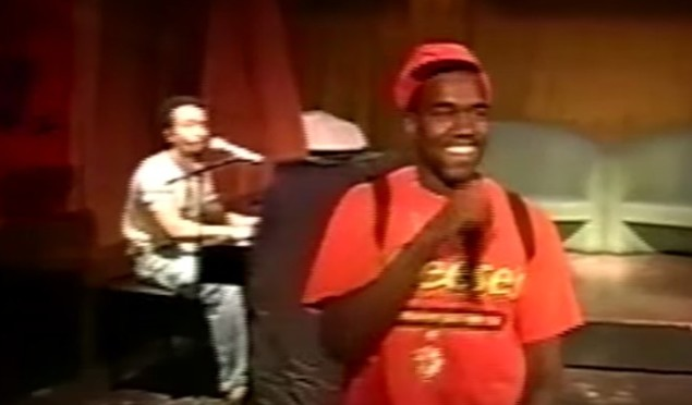 Watch Kanye West and John Legend perform the original version of 'Gold Digger' in 2003