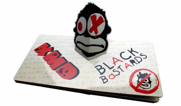 DOOM reissues KMD's Black Bastards as pop-up book