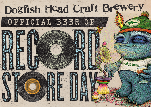 Dogfish Head named official beer for Record Store Day, announces limited edition turntable