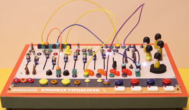 Watch a synth made out of rubber ducks and jelly beans in action