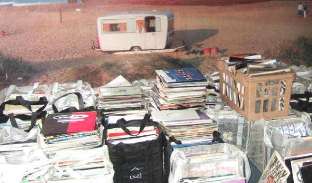 "Newcastle's 586 Records is having an ""All you can carry for £10"" sale"
