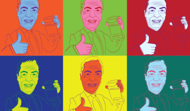 """Nigel Farage's wit and wisdom lampooned by silent 7"""" single"""