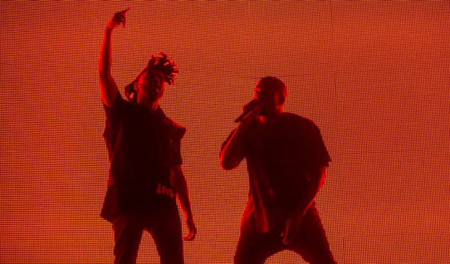 Watch Kanye West join The Weeknd onstage at Coachella