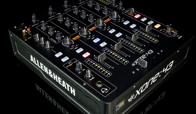 Allen & Heath launches no-frills Xone:43 mixer